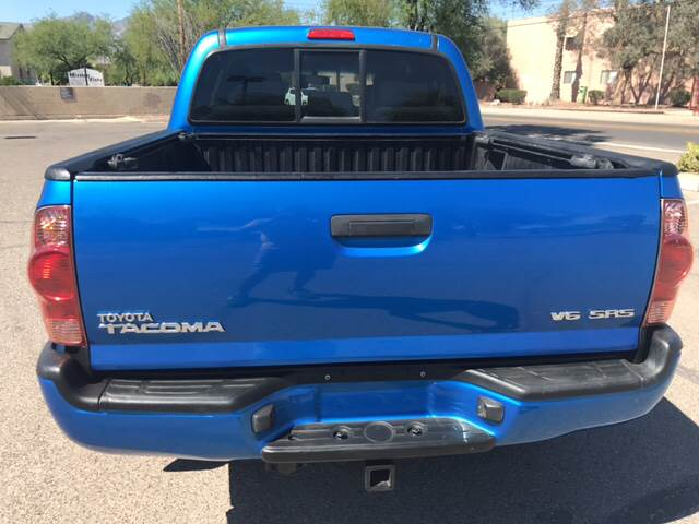 2008 Toyota Tacoma 4x4 V6 4dr Double Cab 5.0 ft. SB 5A - Tucson AZ