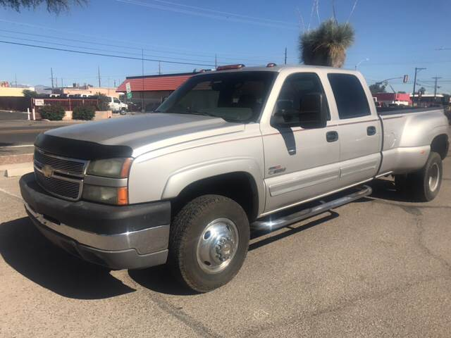 2005 Chevrolet Silverado 3500 4dr Crew Cab LS 4WD LB DRW - Tucson AZ