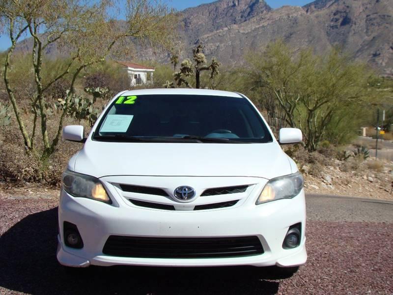 2012 Toyota Corolla S 4dr Sedan 4A - Tucson AZ