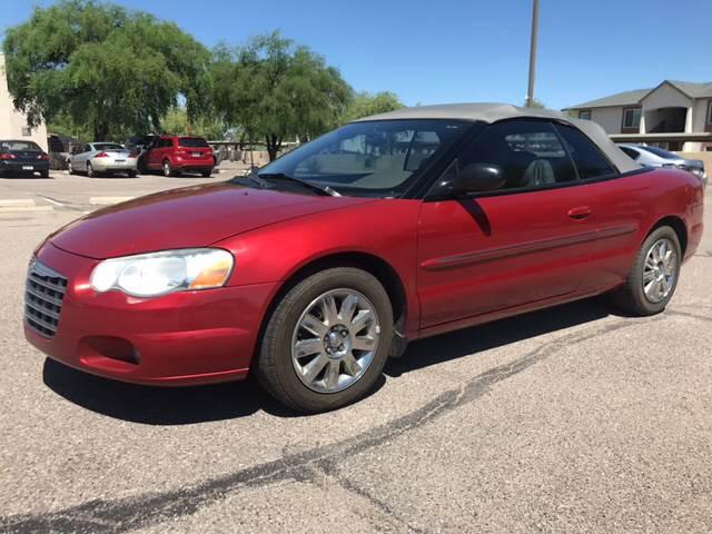 2004 Chrysler Sebring Limited 2dr Convertible - Tucson AZ