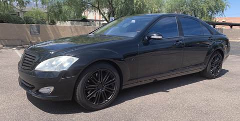 2008 Mercedes-Benz S-Class for sale at Tucson Auto Sales in Tucson AZ