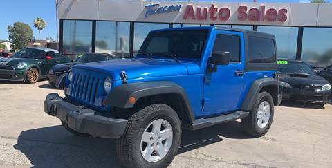 2013 Jeep Wrangler for sale in Tucson, AZ