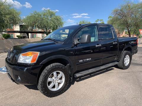 2010 Nissan Titan for sale at Tucson Auto Sales in Tucson AZ
