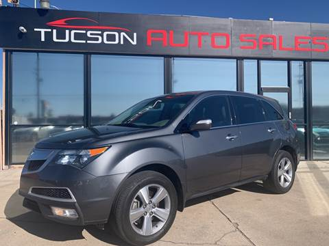 2012 Acura MDX for sale at Tucson Auto Sales in Tucson AZ