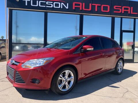 2014 Ford Focus for sale at Tucson Auto Sales in Tucson AZ