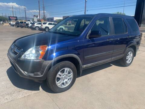 2004 Honda CR-V for sale at Tucson Auto Sales in Tucson AZ