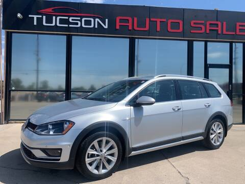 2017 Volkswagen Golf Alltrack for sale at Tucson Auto Sales in Tucson AZ
