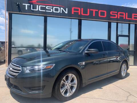 2016 Ford Taurus for sale at Tucson Auto Sales in Tucson AZ