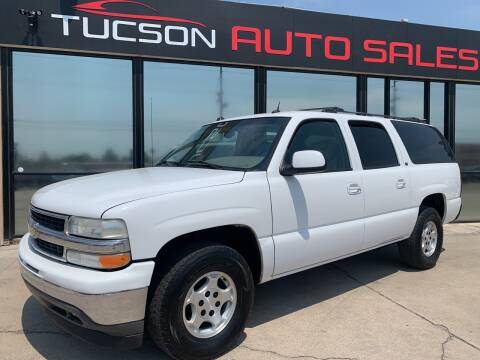 2005 Chevrolet Suburban for sale at Tucson Auto Sales in Tucson AZ