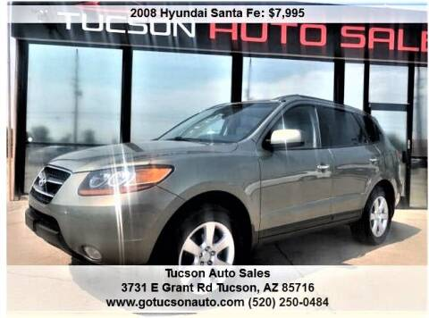 2008 Hyundai Santa Fe for sale at Tucson Auto Sales in Tucson AZ