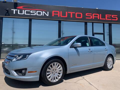 2011 Ford Fusion Hybrid for sale at Tucson Auto Sales in Tucson AZ