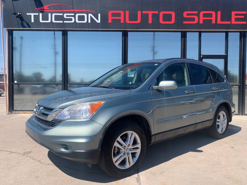 2010 Honda CR-V for sale at Tucson Auto Sales in Tucson AZ