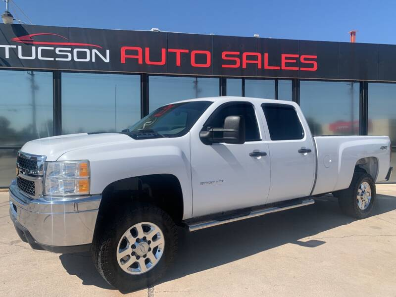 2012 Chevrolet Silverado 3500HD for sale at Tucson Auto Sales in Tucson AZ