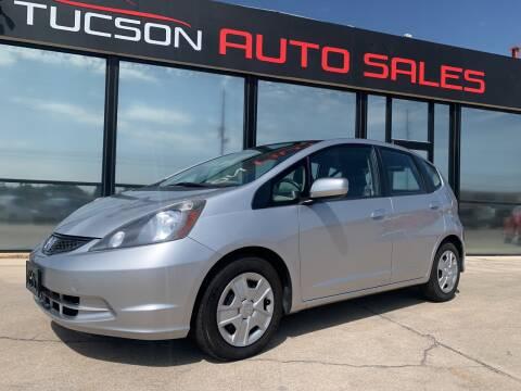 2012 Honda Fit for sale at Tucson Auto Sales in Tucson AZ