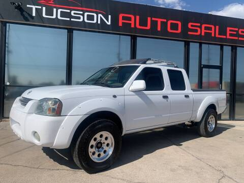 2003 Nissan Frontier for sale at Tucson Auto Sales in Tucson AZ