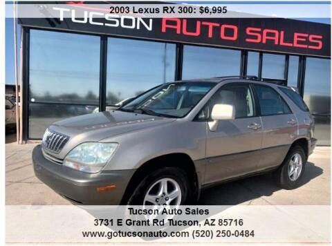 2003 Lexus RX 300 for sale at Tucson Auto Sales in Tucson AZ