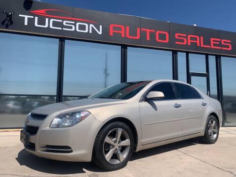 2012 Chevrolet Malibu for sale at Tucson Auto Sales in Tucson AZ