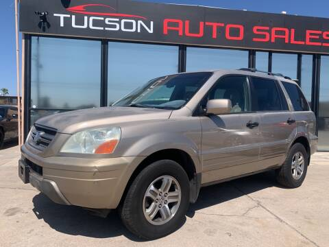 2003 Honda Pilot for sale at Tucson Auto Sales in Tucson AZ