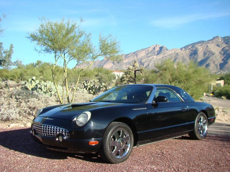 2003 Ford Thunderbird for sale at Tucson Auto Sales in Tucson AZ