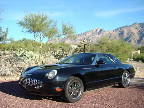 2003 Ford Thunderbird for sale at Tucson Auto Sales in Tucson AZ