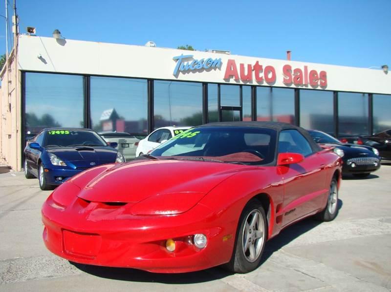 2002 Pontiac Firebird 2dr Convertible - Tucson AZ