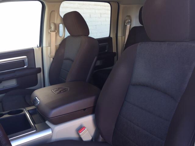 2013 RAM Ram Pickup 3500 4x4 Big Horn 4dr Mega Cab 6.3 ft. SB Pickup - Tucson AZ
