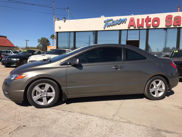 2008 Honda Civic EX 2dr Coupe 5A - Tucson AZ