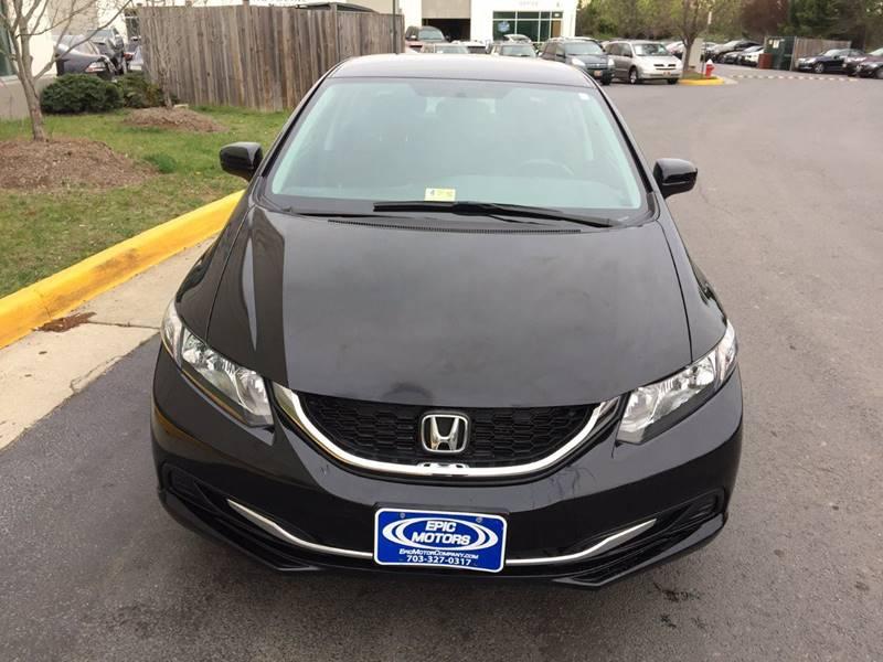 2014 Honda Civic LX 4dr Sedan CVT - Chantilly VA