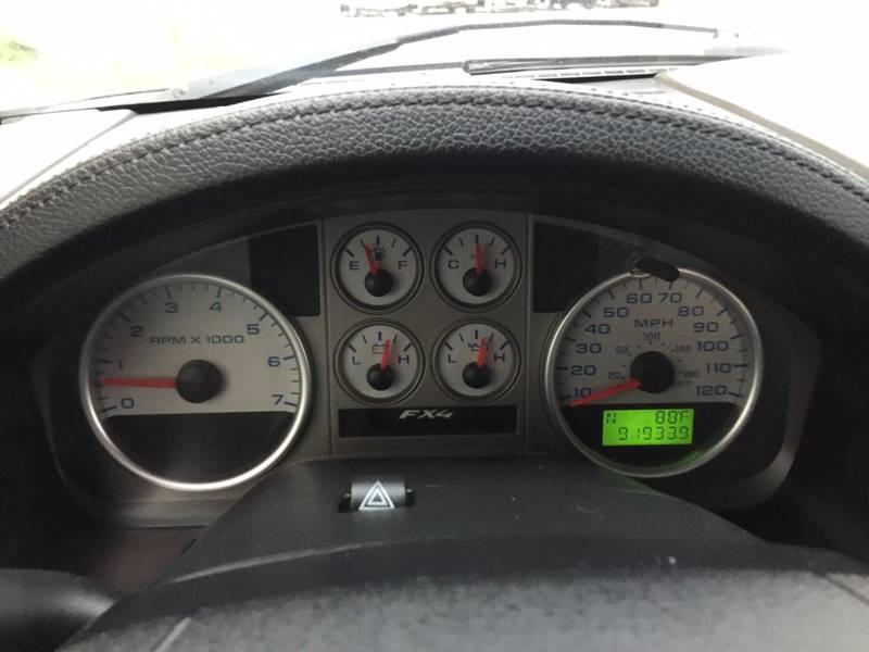 2008 Ford F-150 4x4 FX4 4dr SuperCrew Styleside 6.5 ft. SB - Chantilly VA