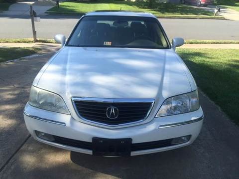 2003 Acura RL for sale in Chantilly, VA