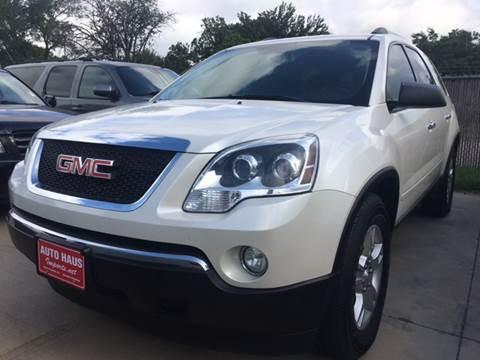2011 GMC Acadia for sale in Grand Prairie, TX