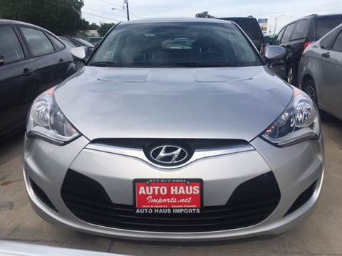 2016 Hyundai Veloster for sale in Grand Prairie, TX