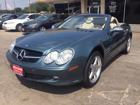 2003 Mercedes-Benz SL-Class for sale in Grand Prairie, TX