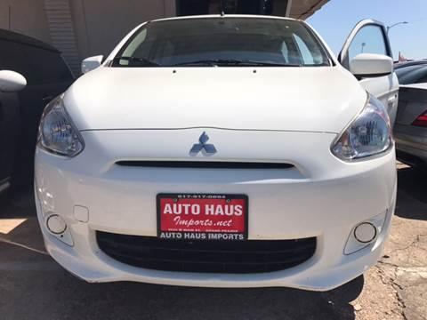 2014 Mitsubishi Mirage for sale in Grand Prairie, TX