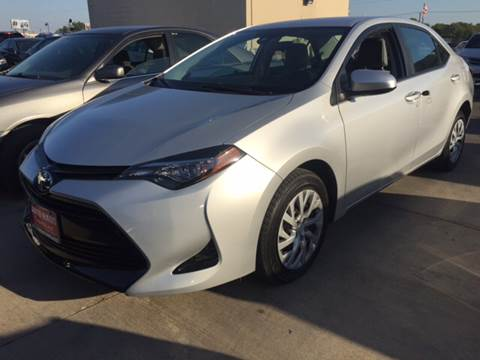 2017 Toyota Corolla for sale in Grand Prairie, TX