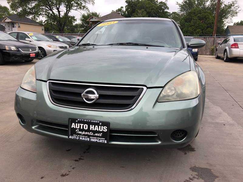 2003 Nissan Altima 2.5 S 4dr Sedan   Grand Prairie TX