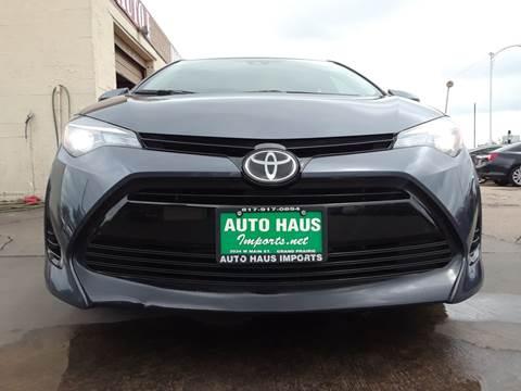 2018 Toyota Corolla for sale in Grand Prairie, TX