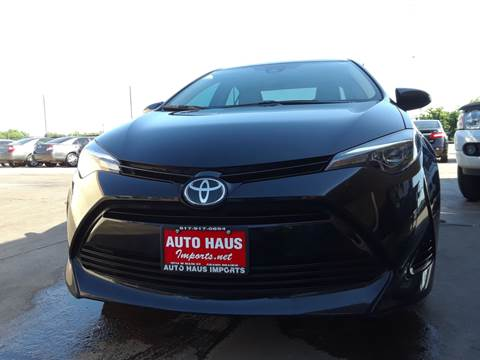 2017 Toyota Corolla for sale in Grand Prairie, TX