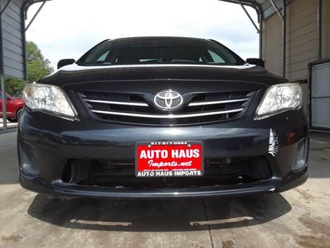 2013 Toyota Corolla for sale in Grand Prairie, TX