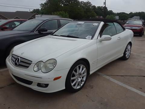 2007 Mercedes-Benz CLK for sale in Grand Prairie, TX