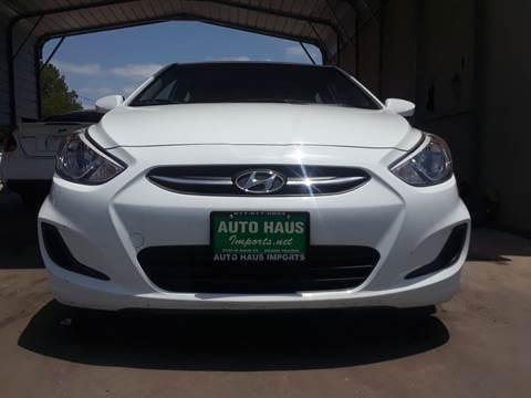 2016 Hyundai Accent for sale in Grand Prairie, TX