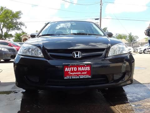 2005 Honda Civic for sale in Grand Prairie, TX