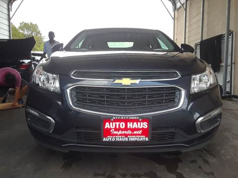 2016 Chevrolet Cruze Limited for sale in Grand Prairie, TX