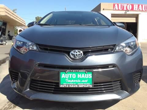 2016 Toyota Corolla for sale in Grand Prairie, TX