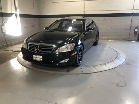 2008 Mercedes-Benz S-Class for sale at Luxury Car Outlet in West Chicago IL