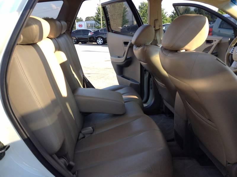 2004 Nissan Murano AWD SL 4dr SUV - Gainesville GA