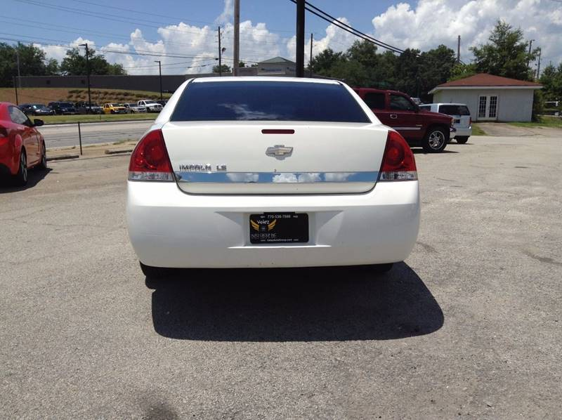 2006 Chevrolet Impala LS 4dr Sedan w/ roof rail curtain delete - Gainesville GA