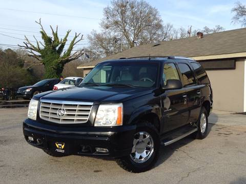 2002 Cadillac Escalade for sale in Gainesville, GA