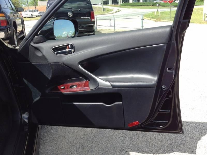 2007 Lexus IS 250 4dr Sedan (2.5L V6 6A) - Gainesville GA
