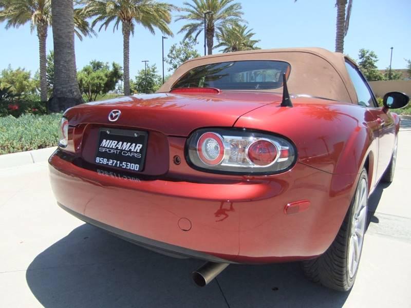 2008 Mazda MX-5 Miata Grand Touring 2dr Convertible (2L I4 6M) - San Diego CA